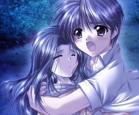 Anime love i 39 ll protect her no matter what - Manga couple triste ...