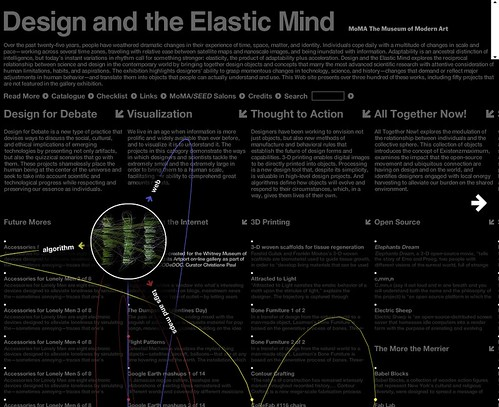 MoMA: Design and the Elastic Mind / 2008-03-25 / SML Screenshots | by See-ming Lee (SML)