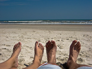 Feet relaxing by the sea | by jcgoforth