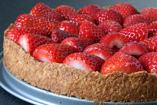 Strawberry Kuchen Crust | by Sunday Nite Dinner