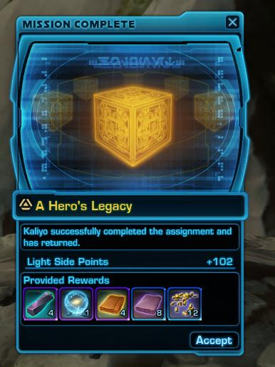 Mission Discovery - Underworld Trading (Grade 10) - result