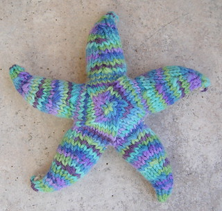 Sea Star front | by dzrtmouseknits