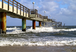 Stormy again on the pier | by Batram