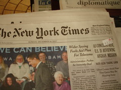 New York Times $8.25 | by Bill Binns