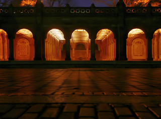 Central Park - Bathesda Arcade - Just before sunrise | by joiseyshowaa
