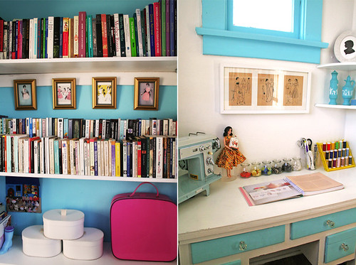Emily's Sewing Room/Library | by Gregory Han