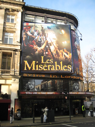 Les Miserables London Mit Hotel