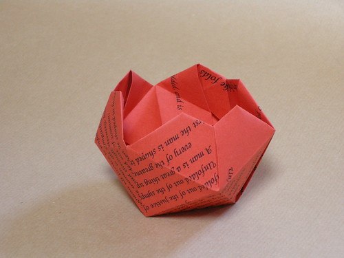 Origami Circle Box Ivoiregion