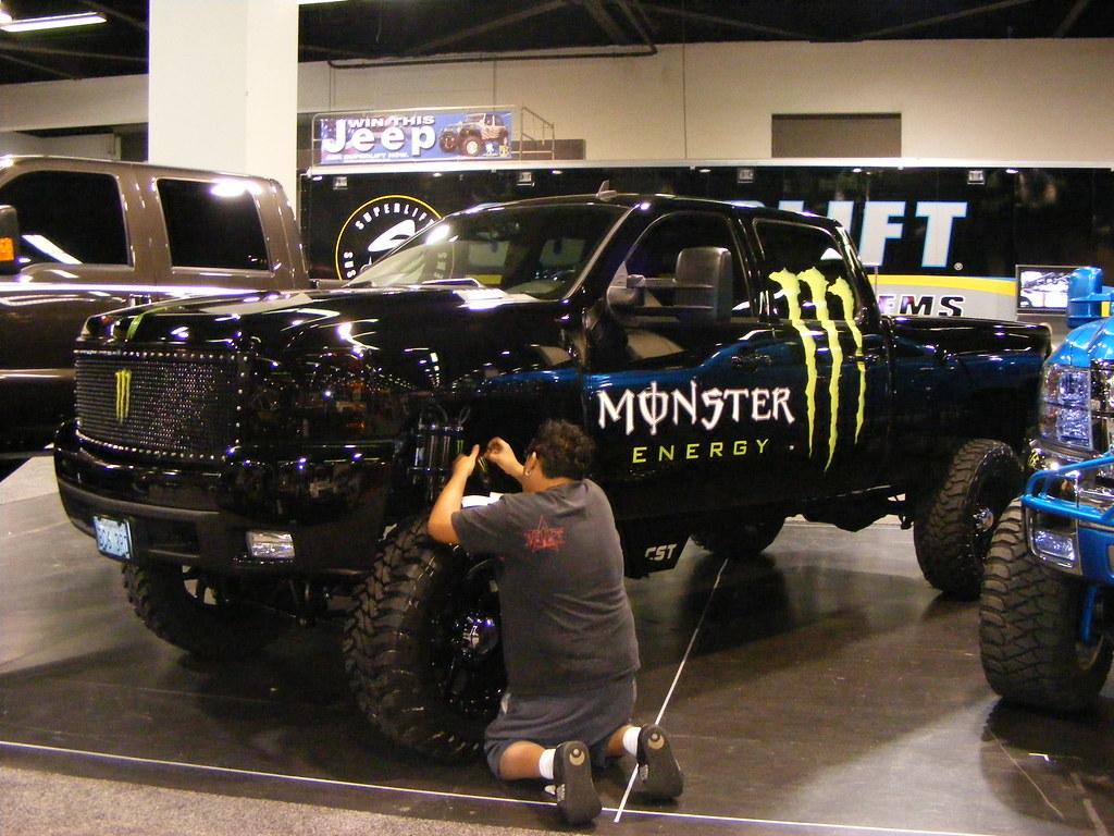 Monster Energy Silverado Steven Harrell Flickr