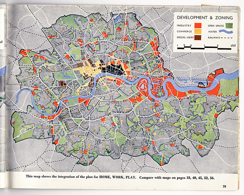 County Of London Plan Flickr - London map 1945