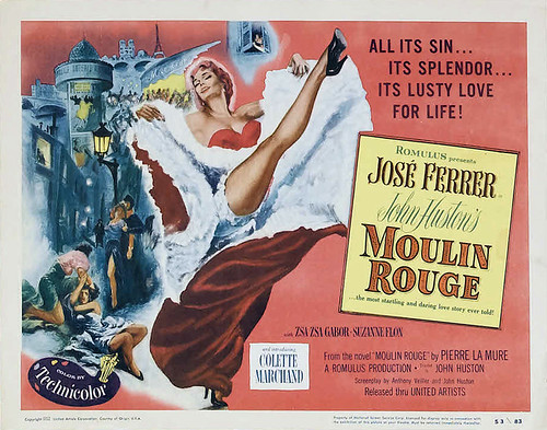 Moulin Rouge - 1952 - Poster 5
