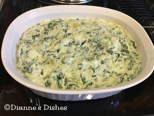 Spinach Artichoke Dip: Ready for Cheese