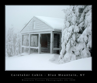 Caretaker Cabin, Blue Mountain, Adirondacks, NY | by Mountain Visions