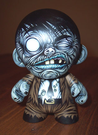 Mini Munny Zombie- front view | by Kevin W Cross
