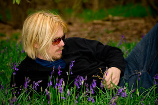 Mark in the bluebells | by denovich