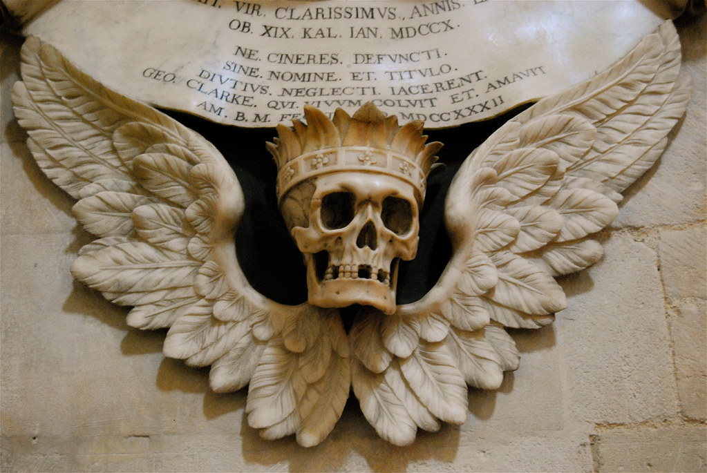 Winged Skull - Christ Church Cathedral | John Murray | Flickr