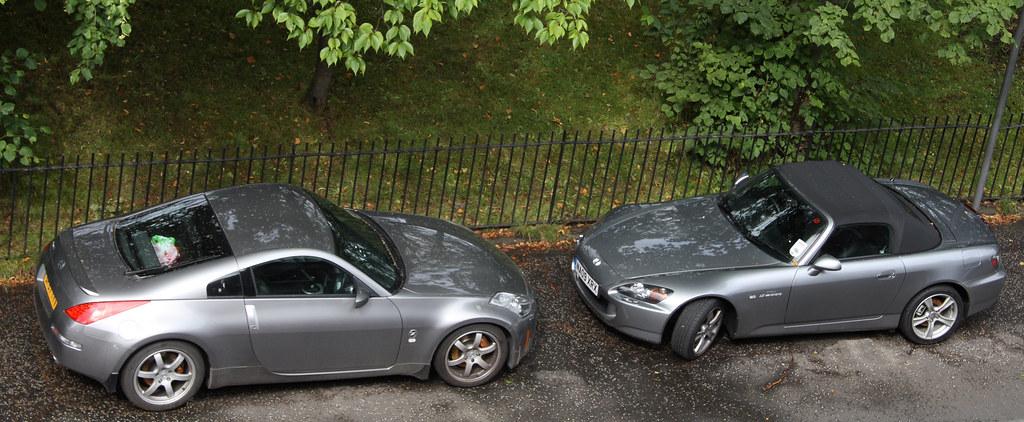 350Z vs S2000  Eds car vs Shauns car  who will win  Hannah