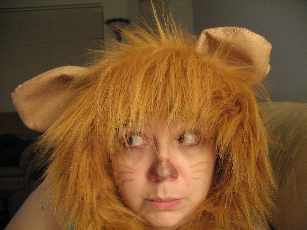 ... Home made Cowardly Lion Halloween costume - was super cheap to make | by Americanuck  sc 1 st  Flickr & Home made Cowardly Lion Halloween costume - was super cheau2026 | Flickr