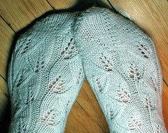 embossedleavessocks | by coco knits