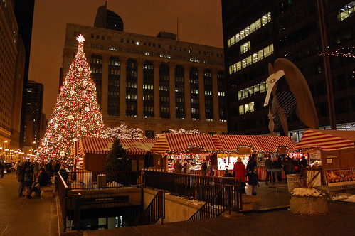 christmas at daley plaza | by Tom Gill.