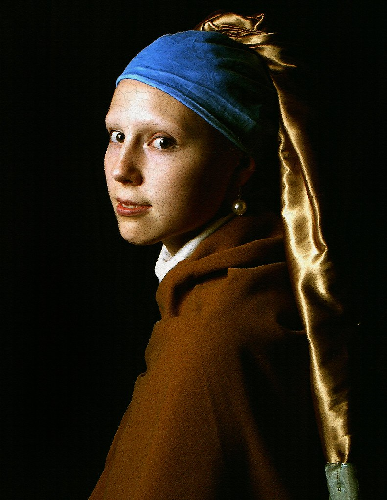 Girl With The Pearl Earring  By Logan Brumm Photography And Design