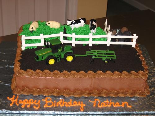 Nathan S Birthday Cake Neighbor S Son Wanted A Farm