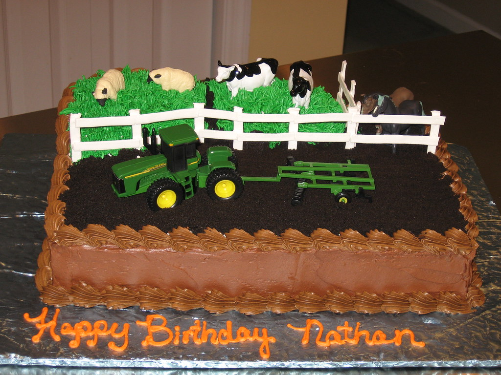 Farm Cake Toppers Uk