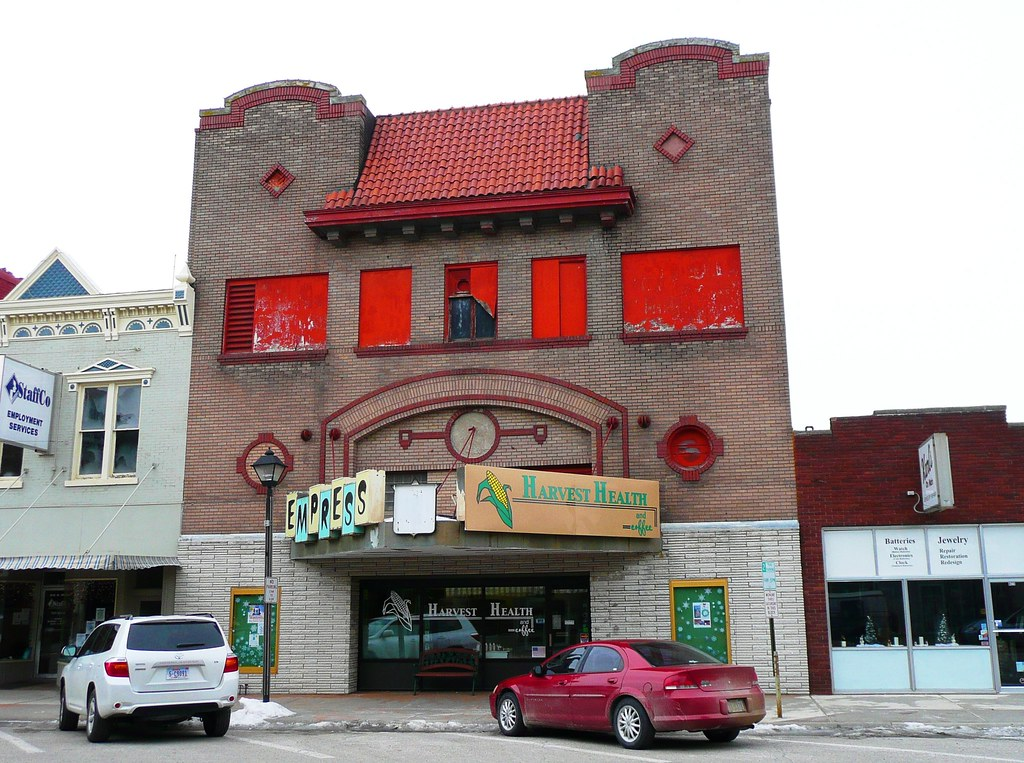 Fremont Ne Former Empress Theater This Is Now An