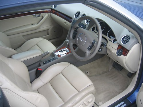 2003 Audi A4 2 4 Sport Cabriolet Leather Interior