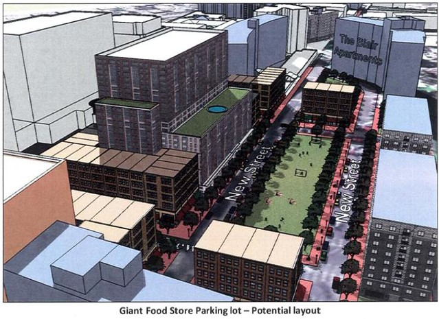 Giant Food Parking Lot Potential Existing And Potential Flickr