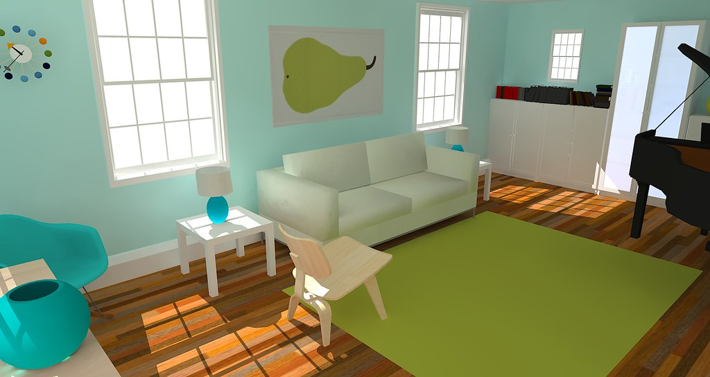 sketchup living room sketchup living room s k flickr 11493