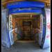 Graffiti on platform 6
