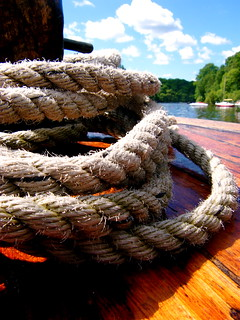 Rope on a Boat | by amypalko