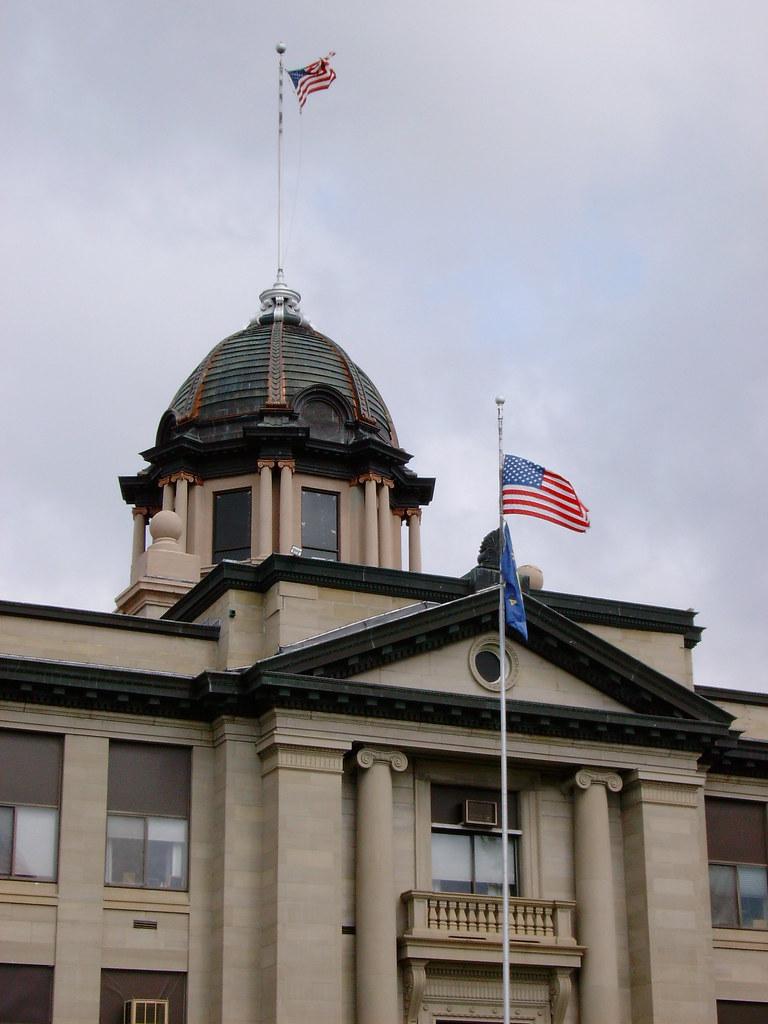 Montana rosebud county forsyth -  Rosebud County Courthouse Tower Forsyth Montana By Courthouselover