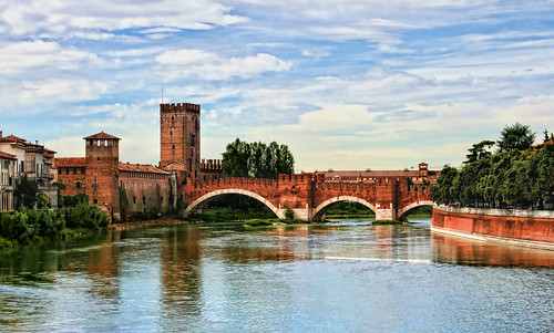 Ponte Scagliero, Verona, Italy | by sminky_pinky100 (In and Out)
