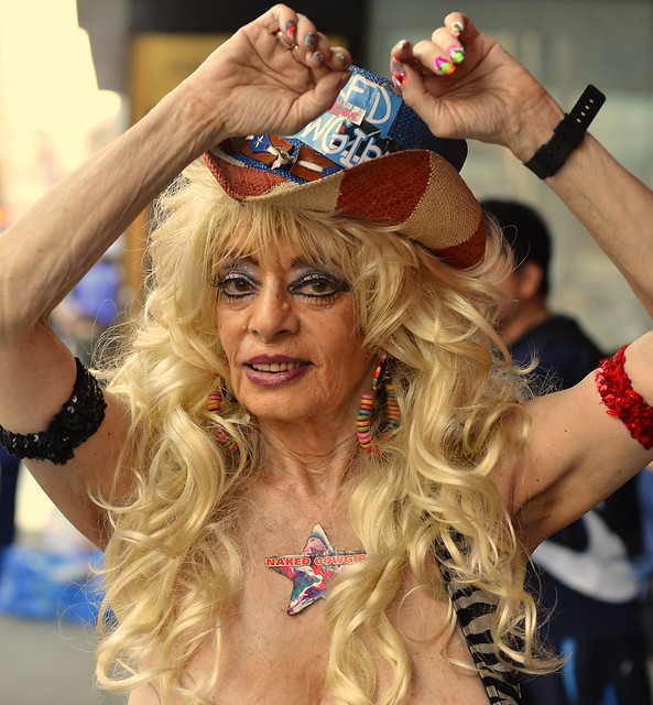 Naked Cowgirl, Nyc Times Square  Flickr - Photo Sharing-2433