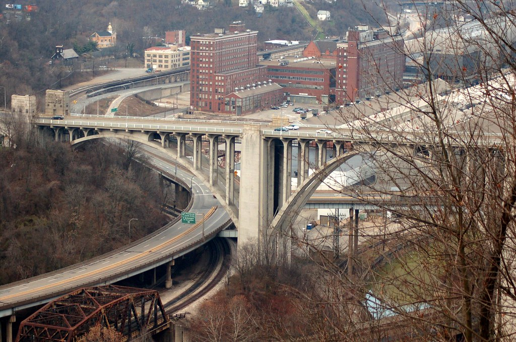 Westinghouse Bridge And The Turtle Creek Valley George