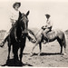 Vintage: Great-Grandparents on Horses