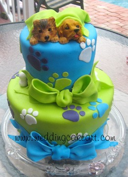 Birthday Cake Designs Of Dogs