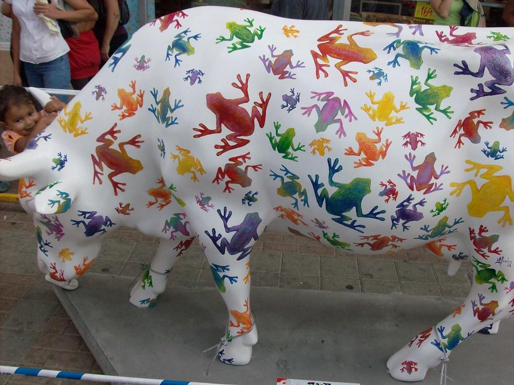 Vaca Vaca Rarara Na Cow Parade Costa Rica 2008