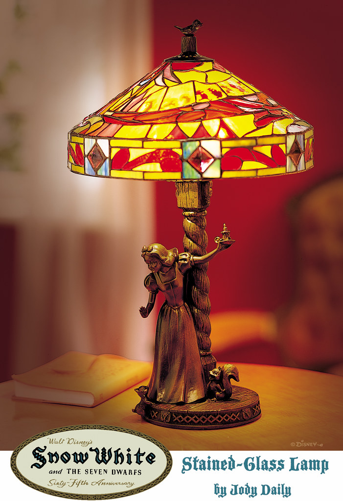 Snow White Stained Glass Lamp Quot Snow White And The Seven