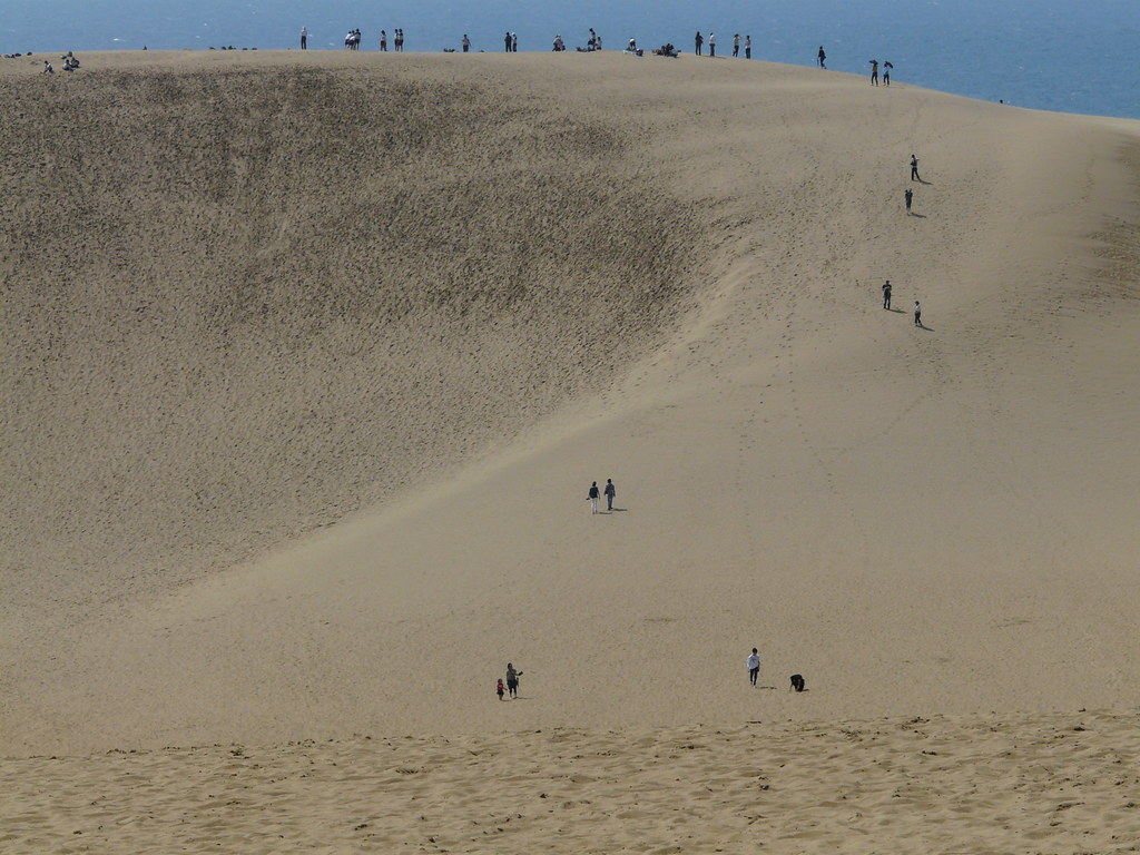 Tottori Sand Dune In Japan