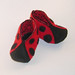 Lady Bug Baby Booties