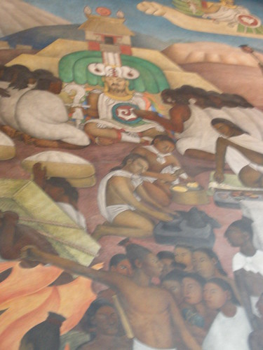 The diego rivera murals the legend of quetzalcoatl 1929 for Diego rivera mural 1929