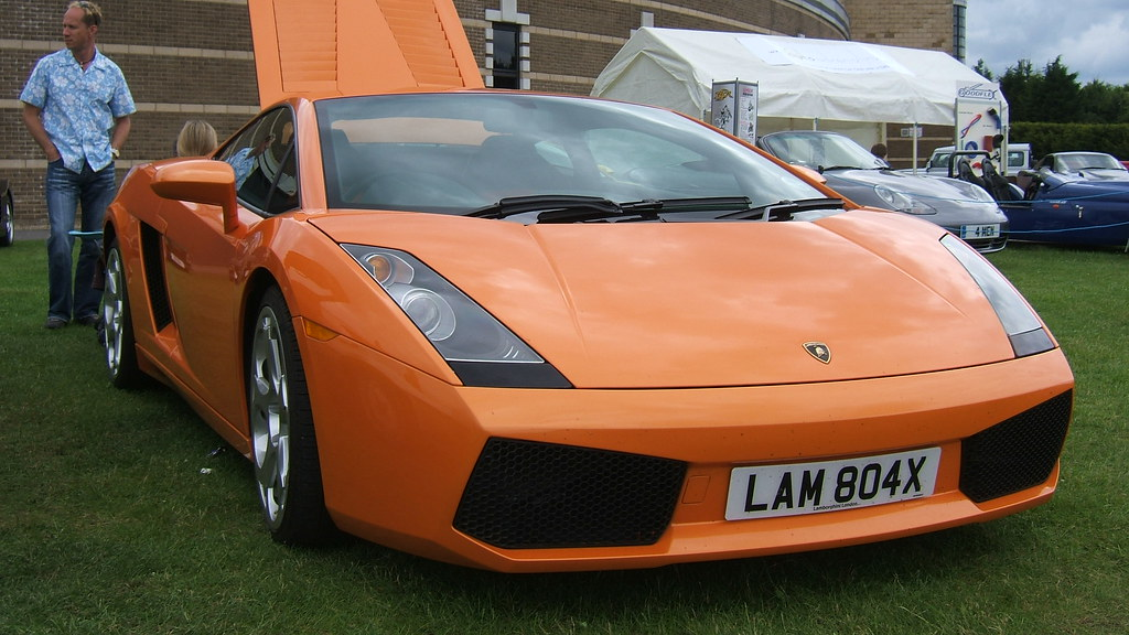 Lamborghini With Personalised Number Plate Lamborghini At Flickr