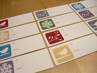 cut gift tags.JPG | by paperseed