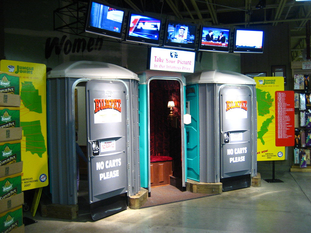 Bathrooms the best restrooms in america at jungle for Best bathrooms in america