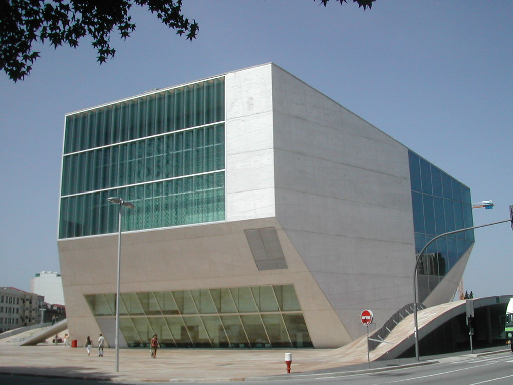 Casa da musica rem koolhaas porto portugal casa da for Piscitelli casa de musica