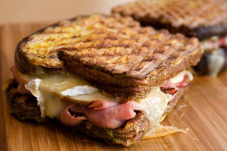 Ham, Brie, and Apple French Toast Panini | by roboppy