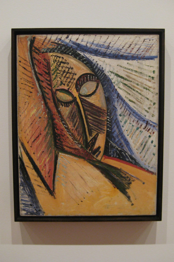 Nyc Moma Pablo Picasso S Head Of A Sleeping Woman Stud